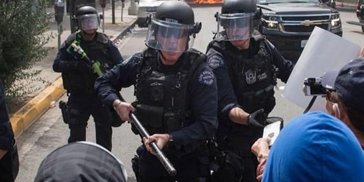 آمریکا استفاده از «اسلحه حرارتی» علیه معترضان را بررسی کرده است