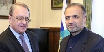 رایزنی سفیر ایران با معاون وزیر خارجه روسیه درباره اوضاع سوریه