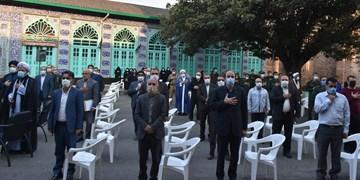 برگزاری تجمع مردمی در پاسخ به اقدام شیطانی اهانت به پیامبر اسلام در شهرستان آمل