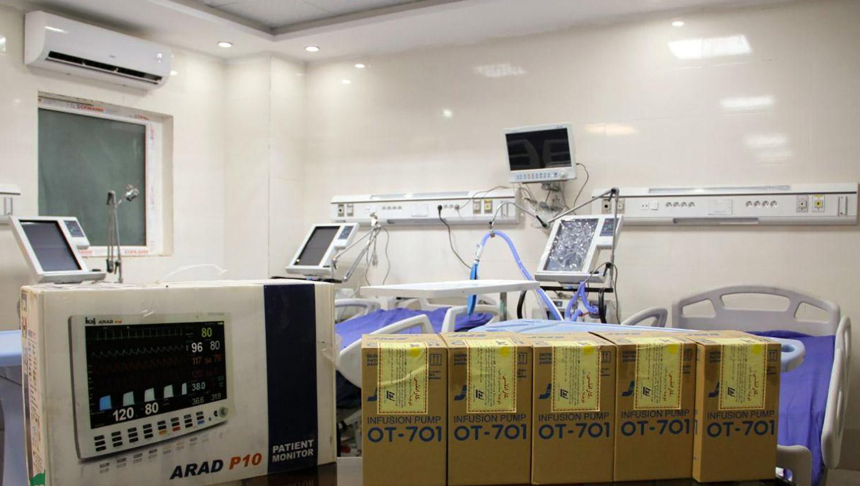 13990625000482 Test NewPhotoFree - تجهیز یک بیمارستان محروم توسط خادمان امام رضا (ع)+عکس