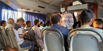 کرونا و چالش «سلامت-معیشت»/ فاصله اجتماعی در شناورهای مسافری قشم حذف شد