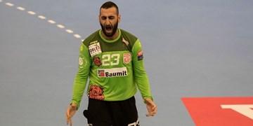 پیروزی لژیونرهای هندبال در لیگ قهرمانان اروپا/ برتری دیناموبخارست در شب درخشش ایرانیها