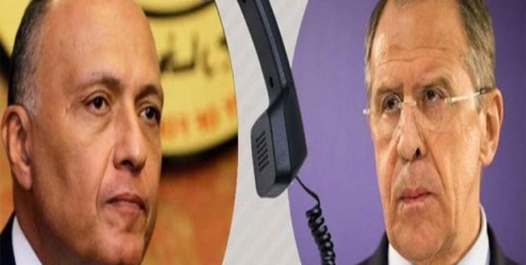 تاکید مصر و روسیه بر لزوم حفظ حاکمیت و تمامیت ارضی سوریه