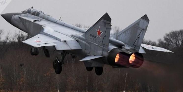 رهگیری هواپیمای راهبردی آمریکا از سوی جنگندههای روسیه
