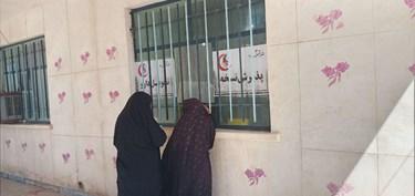 خدمات درمانی هلال احمر استان قزوین در سیستان و بلوچستان