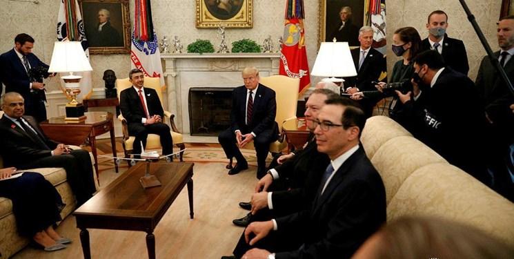 وزیرخارجه امارات: توافق سازش، پیام واضحی برای همکاری با آمریکاست