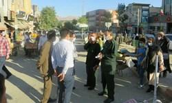 فرمانده سپاه کردستان از روند اجرای پیادهراه فردوسی سنندج بازدید کرد