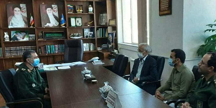 فرمانده سپاه کردستان: آمادگی همکاری برای پیشرفت ورزش استان داریم