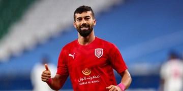 رضاییان: الدحیل تیم بزرگی است/از انتخابم به عنوان بهترین بازیکن خوشحالم