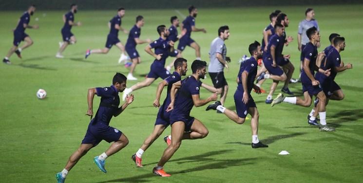گزارش تمرین استقلال| شور و هیجان در بین بازیکنان در شب حضور دیاباته+عکس