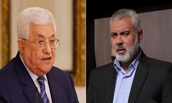 تماس تلفنی «هنیه» با «عباس» همزمان با امضای توافق سازش