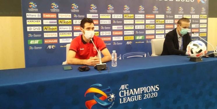 خلیل زاده: همیشه بازی با تیمهای عربستانی شرایط خاصی دارد/ دیدار با التعاون برای ما فینال بود