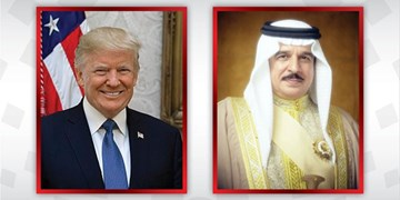 تماس تلفنی ترامپ با شاه بحرین درباره توافق سازش با رژیم صهیونیستی