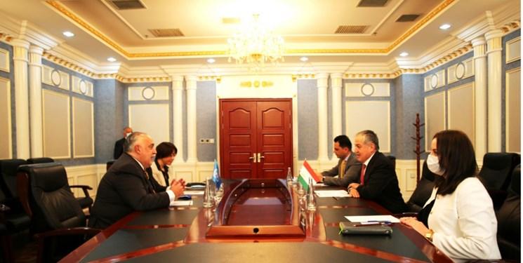 دیدار وزیر خارجه تاجیکستان و رئیس برنامه جهانی غذا در «دوشنبه»