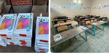 اهدا ۵۰ دستگاه تبلت به فرزندان ایتام تحت حمایت کمیته امداد