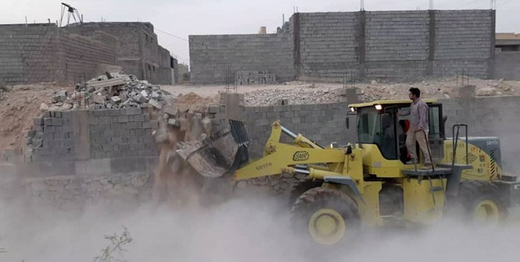 آزادسازی بیش از 2600 مترمربع از حریم و بستر رودخانههای دشتستان