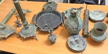 کشف عتیقهجات ۲ هزار ساله قبل از اسلام در میاندورود