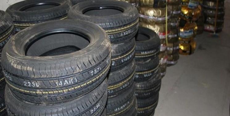 کشف 228 حلقه لاستیک قاچاق  در ساری