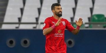 نیمه نهایی جام حذفی قطر  رضاییان در ترکیب اصلی الدحیل مقابل السد