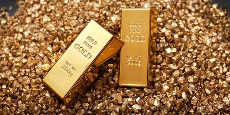 سقوط 10.2دلاری قیمت طلا در بازار جهانی / کاهش 96.3 دلاری قیمت طلا در یک ماه