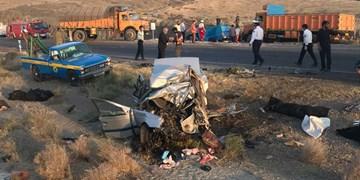 8 کشته و مصدوم در دو تصادف جادهای