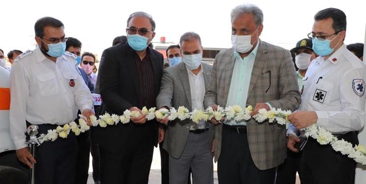 دومین اورژانس ریلی کشور در شیراز راهاندازی شد
