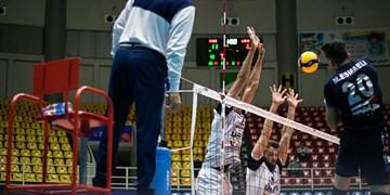 لیگ برتر والیبال| شهرداری ورامین3-1 آذرباتری ارومیه