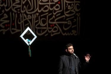 شعرخوانی محمد غفاری در سوگواره شعر «پلک صبوری»