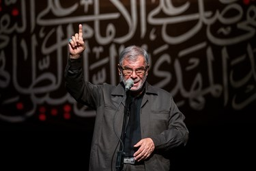 شعرخوانی حاج ولی الله کلامی زنجانی در سوگواره شعر «پلک صبوری»