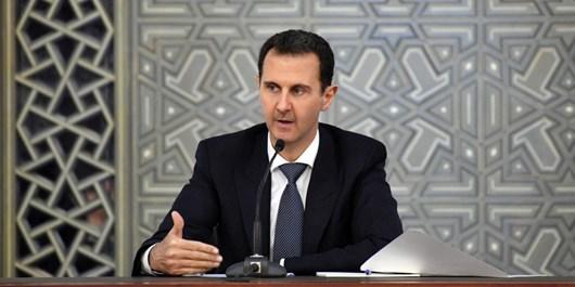 اسد: اروپاییها و آمریکا با حمایت از تروریسم، مردم سوریه را آواره کردند