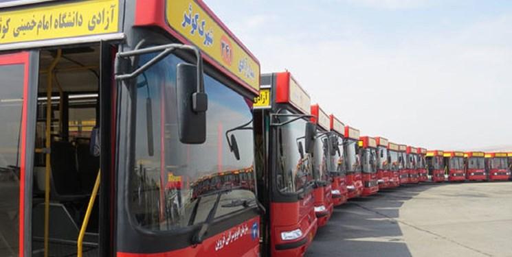 ظرفیت ناوگان فعال اتوبوسرانی قزوین به ۸۰ درصد میرسد