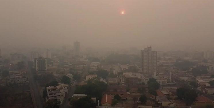 هوای ناسالم برای گروههای حساس در شهرهای صنعتی/آسمان پایتخت روزهای آینده صاف است
