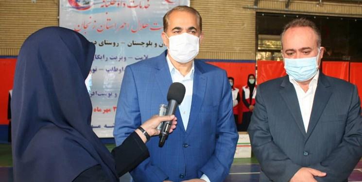 هلال احمر، کمکهای زنجانی ها را به مردم سیستان و بلوچستان ارسال کرد