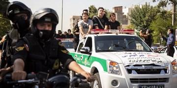 برخورد مقتدرانه پلیس با اخلالگران، محتکران و اراذل و اوباش در راستای تحقق شعار سال