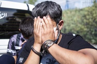 گرداندن اراذل و اوباش در محله تهرانپارس