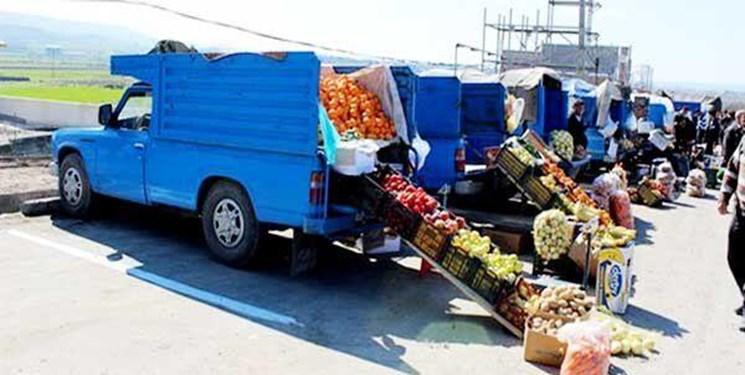 ایجاد بازارچههای دائمی و موقت برای ساماندهی وانتبارهای میوه فروش درشهر اردبیل