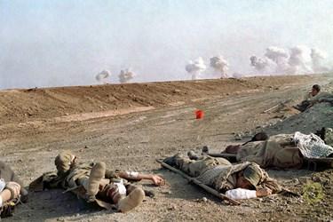 عراق شمال شرقی القرنیه جزیره مجنون / 11 اسفند 1362 عراق در این عملیات از بمب های شیمیایی استفاده میکرد