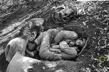 استراحت پس از مرحله اوّل عملیات والفجر4،  عراق، پنجوین/ مهر 1362