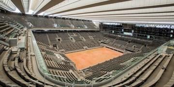 احتمال کاهش دوباره تماشاگران در مسابقات  تنیس آزاد فرانسه