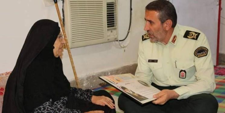 خداحافظی پلیس و فرمانده اخلاقمدار کهگیلویه و بویراحمد/«مردمداری» صفت بارز سردار انصاری