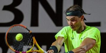 تنیس آزاد رم| راهیابی مرد شماره 2 جهان به مرحله یکچهارم/نادال: یک شب عالی برایم رقم خورد