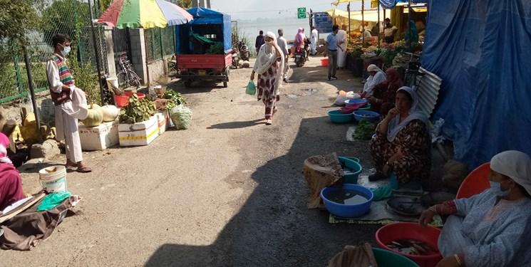 کرونا و اقتصاد کشمیر به روایت تصویر