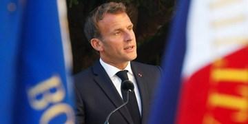 ماکرون اظهارات تند وزیر دفاع ترکیه را جواب داد