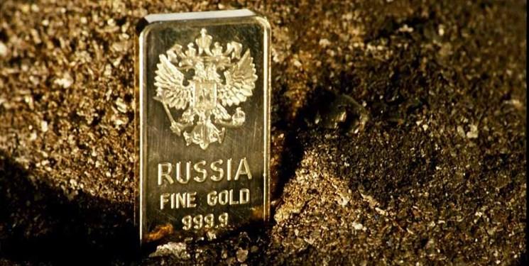 روسیه همچنان به ذخیره طلا و افزایش ذخایر ارزی خود ادامه میدهد
