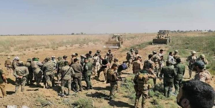 کشته شدن 5 داعشی در عملیات نیروهای ارتش و «الحشد» عراق