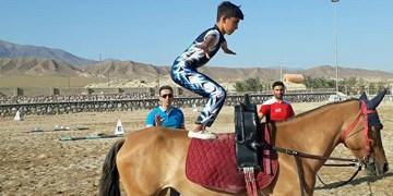 استارت رشته آکروبات ژیمناستیک روی اسب در ۱۶ استان کشور+ تصاویر