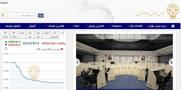 ریزش 47 هزار و 251 واحدی شاخص بورس تهران / ارزش معاملات 12.7 هزار میلیارد تومان شد
