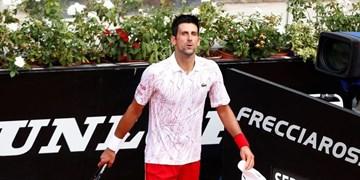 تنیس آزاد رم| جوکوویچ جام قهرمانی را بالای سر برد