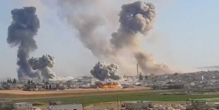 وقوع چند انفجار در ادلب سوریه