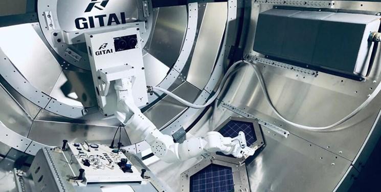 رونمایی از اولین ربات فضایی بخش خصوصی